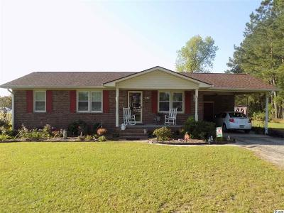 Aynor Single Family Home For Sale: 5872 Big Oak Rd.
