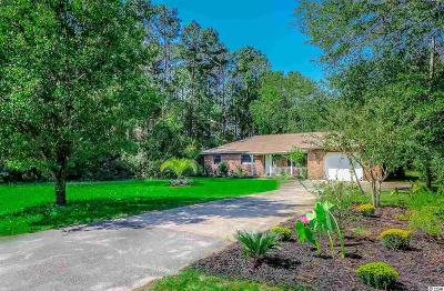 Pawleys Island Single Family Home For Sale: 184 Old Ashley Loop