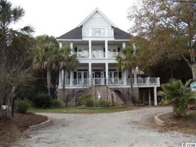Pawleys Island Single Family Home For Sale: 59 Middleton Drive