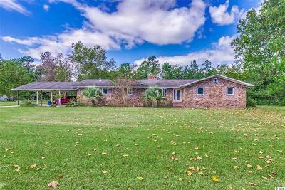 Green Sea Single Family Home For Sale: 4191 Green Sea Road