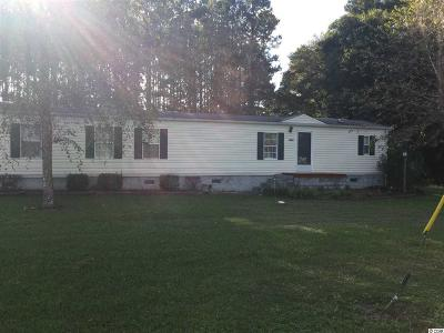 Loris Single Family Home Active-Pending Sale - Cash Ter: 4022 Hwy 554