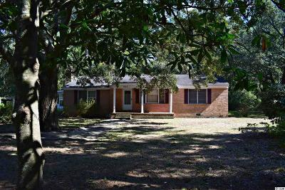 Pawleys Island Single Family Home Active-Pend. Cntgt. On Financi: 612 Parkersville Road