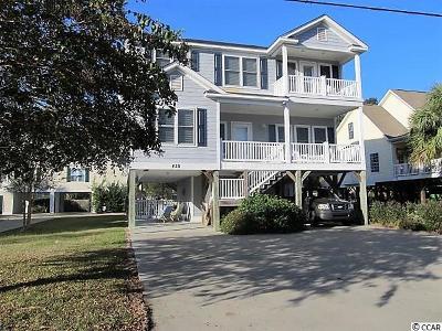 Garden City Beach Single Family Home For Sale: 439 Calhoun Drive