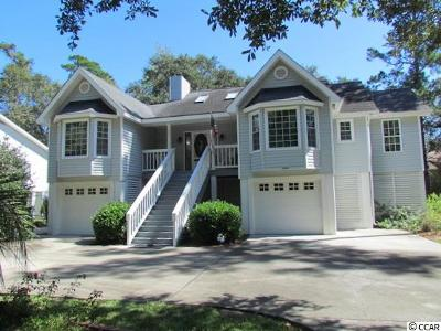Pawleys Island Single Family Home For Sale: 522 Lakeshore Drive