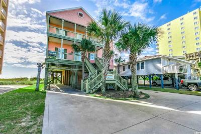 North Myrtle Beach Single Family Home For Sale: 5504 N Ocean Blvd
