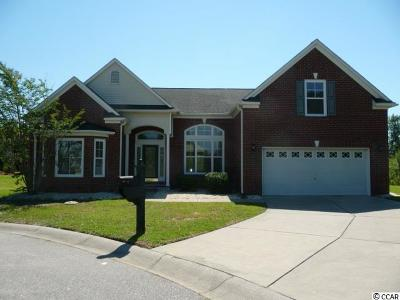 North Myrtle Beach Single Family Home For Sale: 3200 Stoney Creek Ct