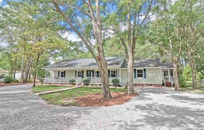 Murrells Inlet SC Single Family Home Sold: $282,500