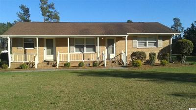 Loris SC Single Family Home Active-Pend. Cntgt. On Financi: $149,999