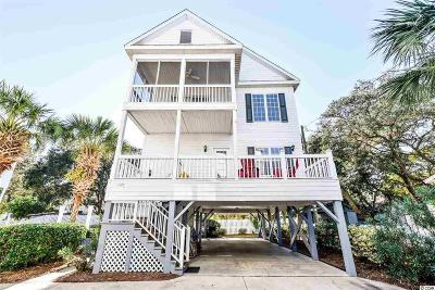 Surfside Beach Single Family Home For Sale: 117c 9th Ave South