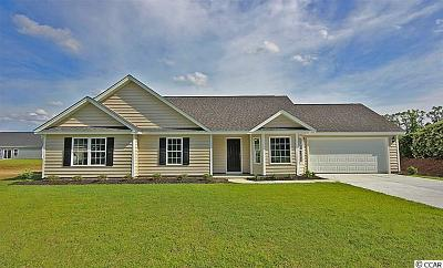 Loris SC Single Family Home For Sale: $147,499