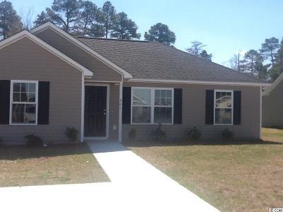 Myrtle Beach SC Single Family Home Active-Pend. Cntgt. On Financi: $179,900