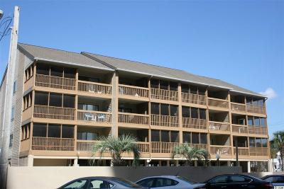 North Myrtle Beach Condo/Townhouse For Sale: 2700 S Ocean Blvd #C-2