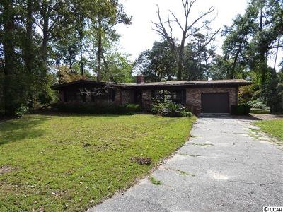 North Myrtle Beach SC Single Family Home For Sale: $164,900