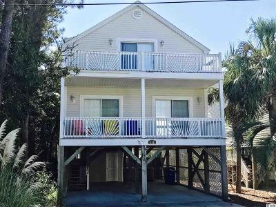 Surfside Beach Single Family Home For Sale: 119 A S 16th Ave
