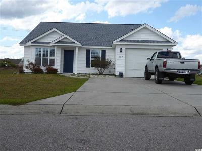Myrtle Beach SC Single Family Home For Sale: $158,900