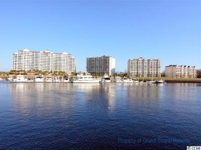 North Myrtle Beach Condo/Townhouse For Sale: 4801 Harbour Pointe Dr #801