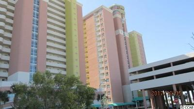 North Myrtle Beach Condo/Townhouse For Sale: 2801 S Ocean Blvd #1433