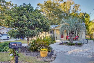 Surfside Beach Single Family Home For Sale: 614 3rd Ave. S