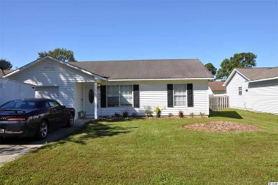Myrtle Beach SC Single Family Home For Sale: $149,900