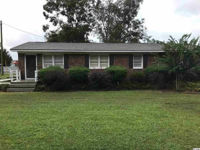 Loris SC Single Family Home For Sale: $138,500
