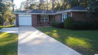 Myrtle Beach SC Single Family Home For Sale: $168,000
