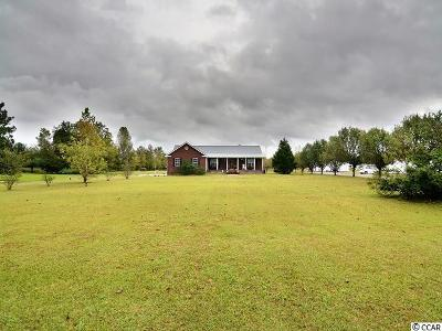 Galivants Ferry Single Family Home For Sale: 3325 Huckleberry Road