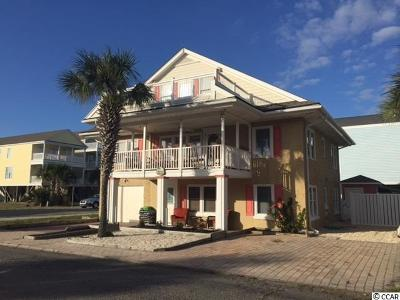 Surfside Beach Single Family Home For Sale: 513 S Ocean Blvd