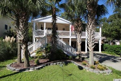 Surfside Beach Single Family Home For Sale: 1030 Lakeside Drive