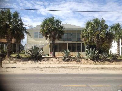 Garden City Beach Multi Family Home For Sale: 668 S Waccamaw Drive