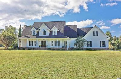 Galivants Ferry Single Family Home For Sale: 523 Brunson Spring Road