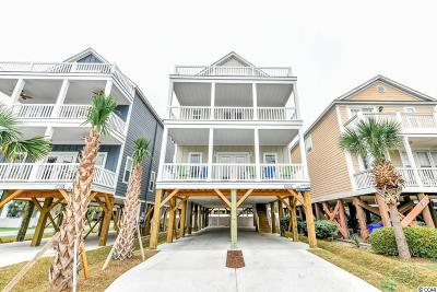 Surfside Beach Single Family Home For Sale: 1514-A S Ocean Boulevard