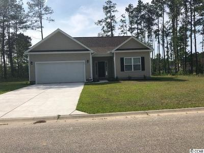 Loris Single Family Home Active-Pend. Cntgt. On Financi: 171 Winding Path Dr