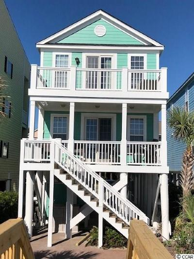 Surfside Beach Single Family Home For Sale: 1513 B South Ocean Blvd