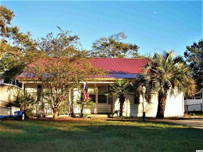 Murrells Inlet Single Family Home Active-Pending Sale - Cash Ter: 4441 Rice Field Rd