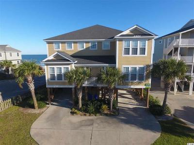 Surfside Beach Single Family Home For Sale: 1311 S Ocean Boulevard