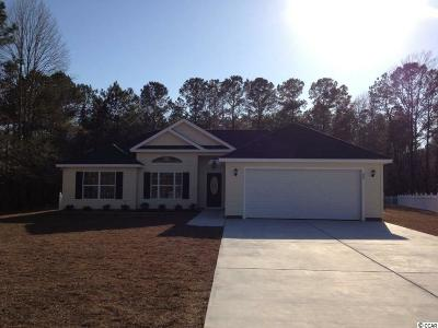 Conway SC Single Family Home Active-Pend. Cntgt. On Financi: $155,000
