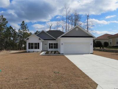 Little River Single Family Home Active-Pending Sale - Cash Ter: 688 Callant Drive