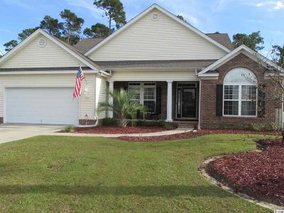 Murrells Inlet Single Family Home For Sale: 724 Woodstone Ct