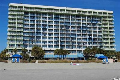 Myrtle Beach Condo/Townhouse For Sale: 1105 S Ocean Blvd #512