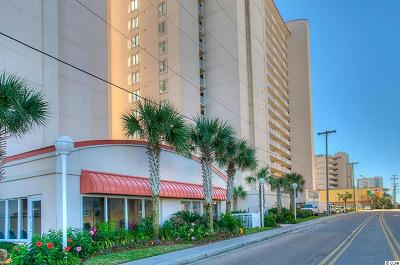 North Myrtle Beach Condo/Townhouse For Sale: 1625 South Ocean Blvd #509