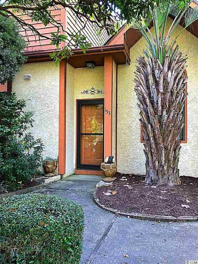 Surfside Beach Condo/Townhouse For Sale: 613 S 13th Ave #153