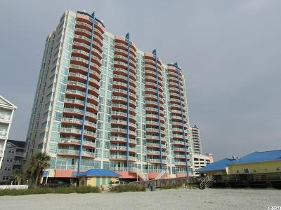 North Myrtle Beach Condo/Townhouse For Sale: 3500 N Ocean Boulevard #1609/161