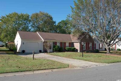 Murrells Inlet Single Family Home Active-Pend. Cntgt. On Financi: 407 Snowy Egret Drive