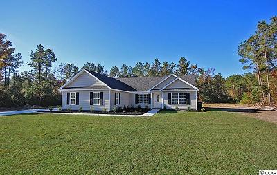Georgetown Single Family Home For Sale: Tbd Lot 8 Timber Run Drive