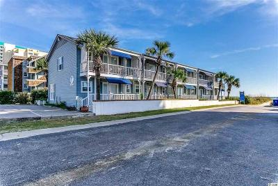North Myrtle Beach Condo/Townhouse For Sale: 2409 S Ocean Blvd #C