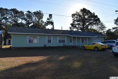 Myrtle Beach Single Family Home Active-Hold-Don't Show: 8222 Highway 814