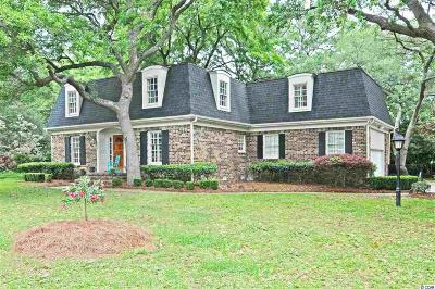 Murrells Inlet Single Family Home For Sale: 756 Mt. Gilead Road