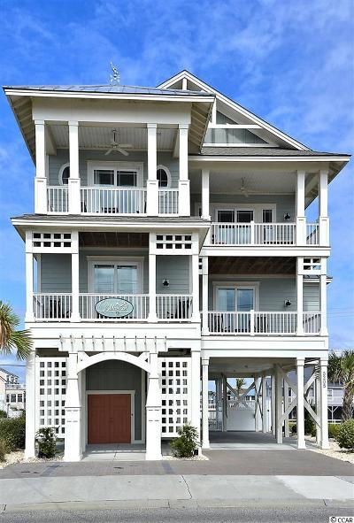 North Myrtle Beach Single Family Home Active-Pending Sale - Cash Ter: 5205 N Ocean Boulevard