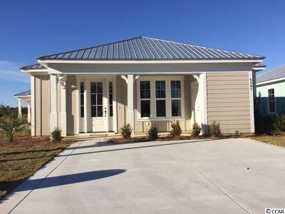 North Myrtle Beach Single Family Home For Sale: 5301 Sea Coral Way