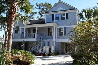 Surfside Beach Single Family Home For Sale: 317 Lakeside Dr